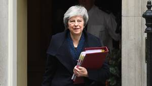 Brexit-Deal beim EU-Gipfel: Großbritanniens Premierministerin Theresa May