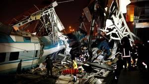Türkei: Mindestens vier Tote bei Zugunglück in türkischer Hauptstadt Ankara