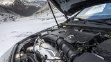 Mercedes A 250 4matic - der Zweiliter-Vierzylinder ist in vielen Mercedes-Modellen verbaut