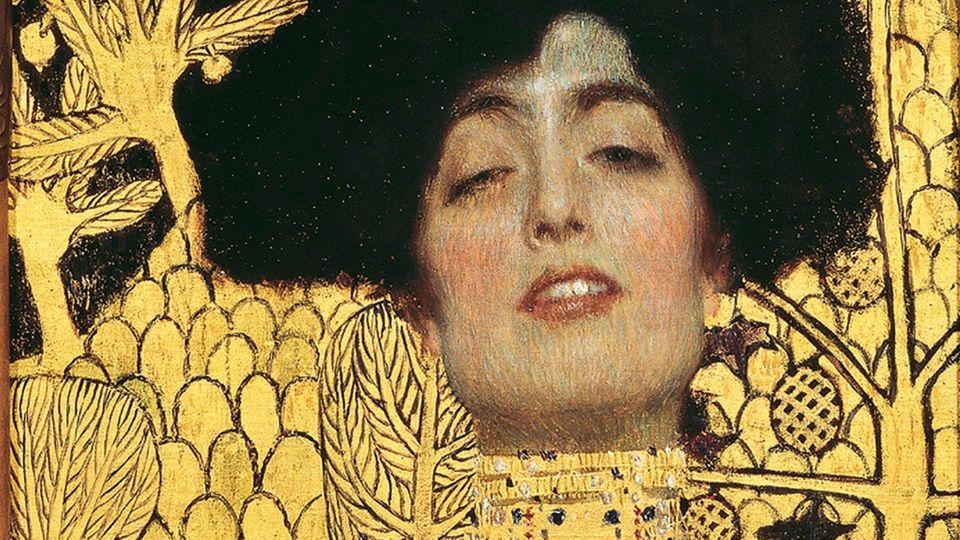 Die Kunst der Verführung: Gustav Klimts Judith ist in Gold getaucht.