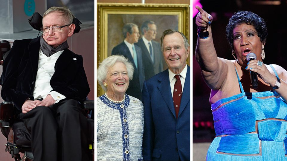 Abschiede 2018: Diese großen Persönlichkeiten haben uns in diesem Jahr verlassen