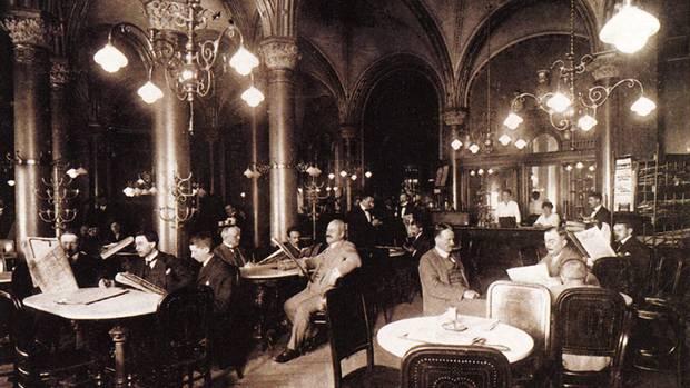 1876 öffnete das berühmte Café Central Wien.