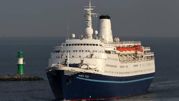 Das Kreuzfahrtschiff war auf dem Weg von der Karibik nach England