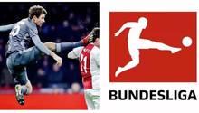 Müller trifft seinen Gegenspieler am Kopf
