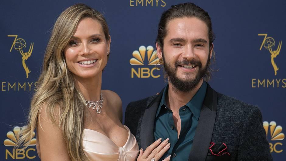 Große Liebe: Heidi Klum und Tom Kaulitz im Liebestaumel: So turbulent war 2018 für die beiden
