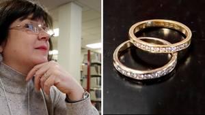Ehering in Toilette verloren: Nach neun Jahren wurde er gefunden