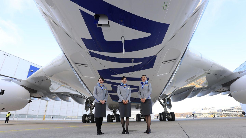 Die Abkürzung ANA steht für All Nippon Airways, der größten Fluggesellschaft Japans, die von Tokio auch nach Frankfurt, München und Düsseldorf fliegt