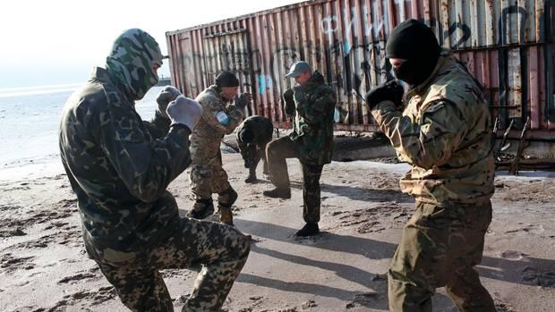 Ukraine-Krise: Die Russen blockieren den Hafen von Mariupol