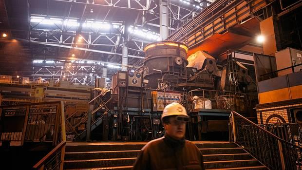 """Für das Stahlwerk """"Illitsch""""sind Exporte schwieriger geworden, seit Russland die Meerenge von Kertsch kontrolliert"""