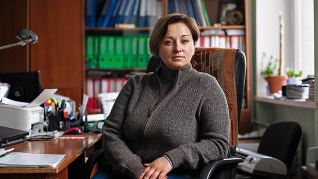 Marija Podibajlo organisierte den Widerstand in der Stadt
