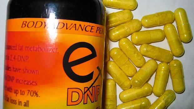 Das knallgelbe Abnehmmittel DNP (2,4-Dinitrophenol) führte bereits zu Todesfällen, auch in Deutschland