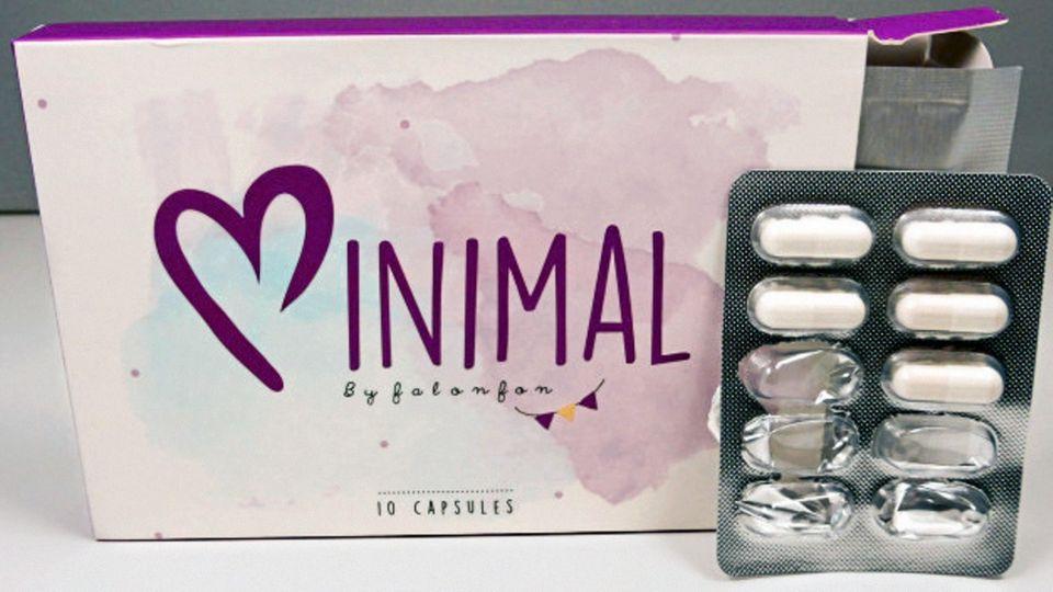 """""""Minimal""""aus dem Internet enthält Sibutramin, das offiziell bereits 2010 vom Markt genommen wurde"""