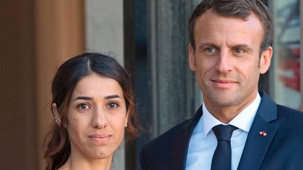 Ende Oktober 2018 empfing Frankreichs Präsident Emmanuel Macron Murad im Élysée-Palast