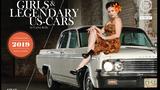 GIRLS & LEGENDARY US-CARS   Wochenkalender 2019  Limitierte Auflage: 2019 Stück  Format: 42 x 30,7 cm  Preis: EUR 39,90