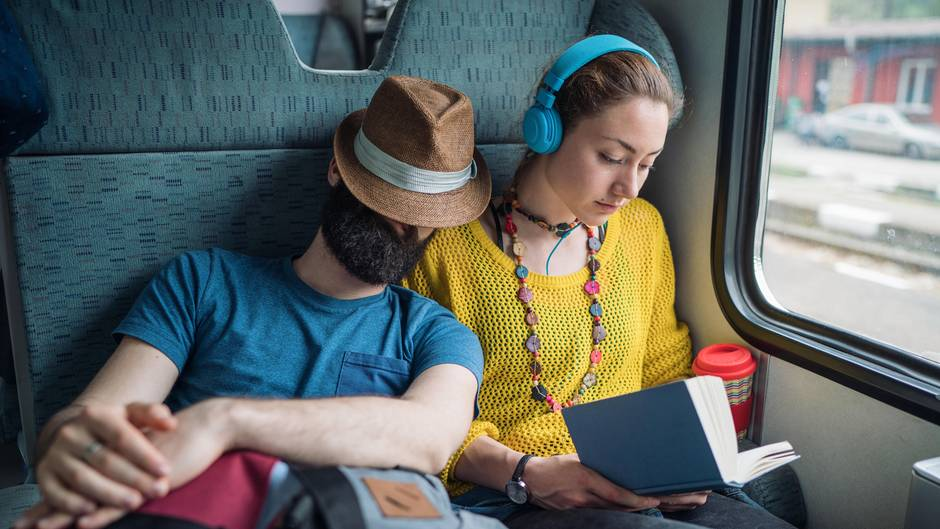 Bahnfahren Lesen