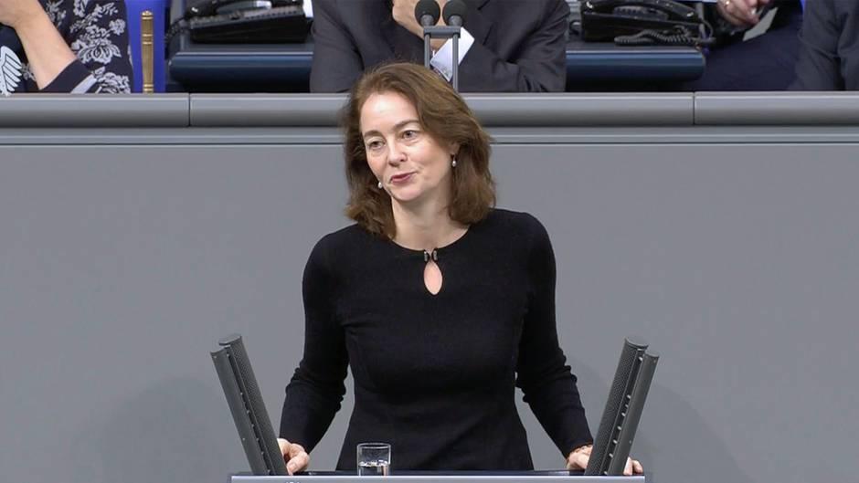 Aufruhr im Bundestag: Justizministerin Katarina Barley gibt Männern die Schuld am Brexit