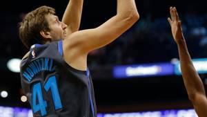 Sport kompakt: Dirk Nowitzki bei Comeback