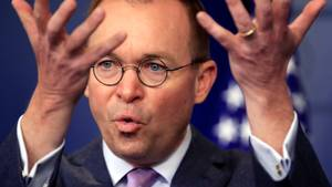 Trumps Haushaltsdirektor Mick Mulvaney wird neuer Interims-Stabschef im Weißen Haus