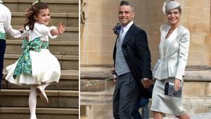 """15. Dezember 2018  Tochter von Robbie Williams:""""Ihr könnt mich nicht mehr verstecken, und das finde ich gut""""  Sie war der heimliche Star bei der Hochzeit von Prinzessin Eugenie und Jack Brooksbank: Theodora, dieTochter von Robbie Williams und seiner Frau Ayda Field, stahl mit ihrem Charme allen die Schau. Brautmutter Sarah Ferguson fragte sie etwa ganz direkt, ob sie die Königin von England sei. Es war das erste Mal, dass man das Mädchen bei einem offiziellen Event sah. Bisher hielten Williams und Field ihre Kinder aus der Öffentlichkeit heraus oder zeigten sie bei Instagram nur von hinten. Mit ihrer neu gewonnenen Popularität scheint Teddy, wie sie von ihren Eltern genannt wird, kein Problem zu haben. In seinem Youtube-Vlog offenbarte der 44-Jährige nun, dass seine Tochter gesagt hat: """"Ihr könnt mich nicht mehr verstecken, und das finde ich gut."""" Außerdem soll die Sechsjährige ihre Mutter gefragt haben, wann sie ihren Vater endlich Rob statt Dad nennen könne. Aydas Antwort: """"Für dich heißt er Dad. Ich glaube nicht, dass er es mag, wenn du ihn Rob nennst."""""""