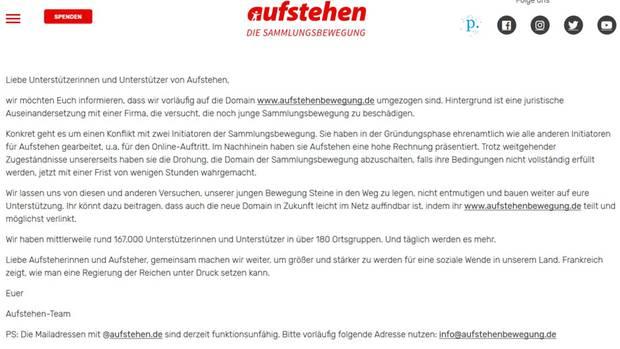 Aufstehen.de