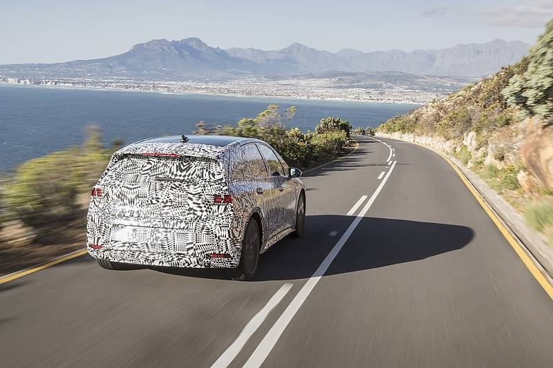 VW I.D. Neo - unterwegs in Südafrika