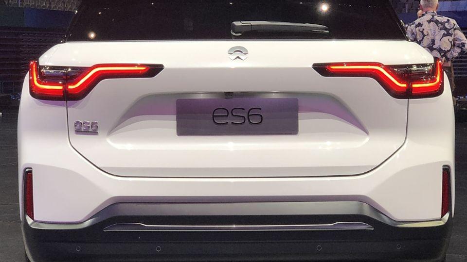 Das Heck des Nio ES6 gleicht dem des ES8