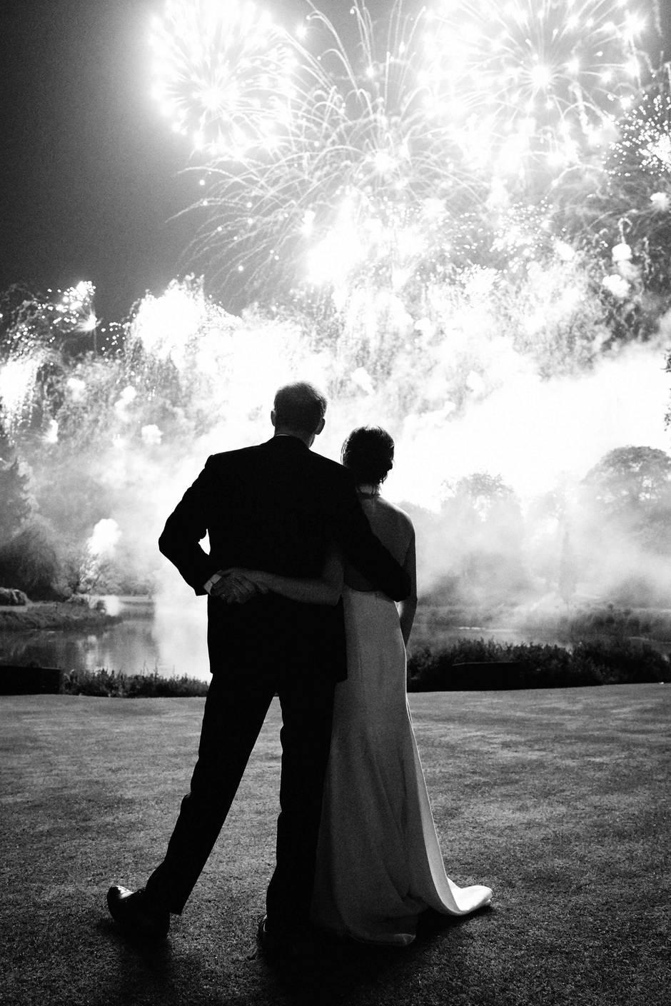 Die offizielle Weihnachtskarte von Prinz Harry und seiner FrauMeghan