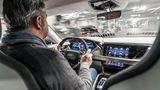 Audi E-Tron GT - fahrerorientiertes Cockpit