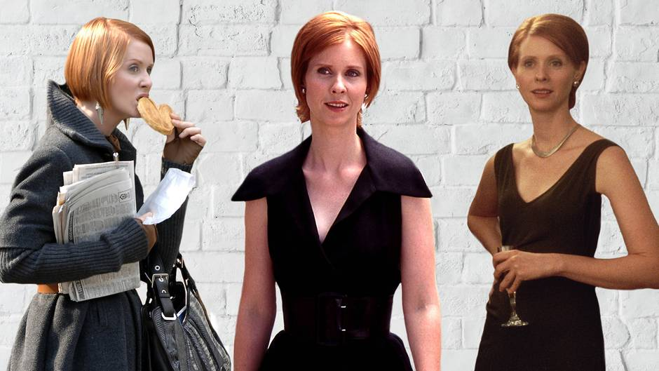 """Sex and the City"": Cynthia Nixon als Miranda Hobbes"