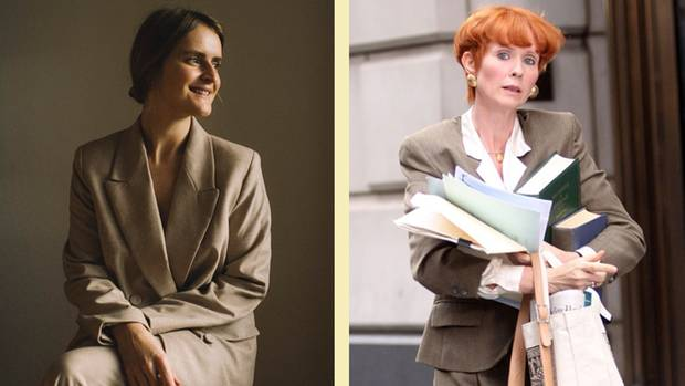 """""""Sex and the City"""": Styling als Miranda Hobbes"""