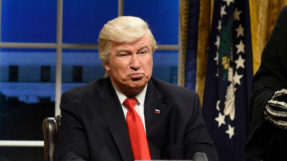 """""""Saturday Night Live"""": Schauspieler Alec Baldwin fühlt sich von Donald Trump bedroht"""