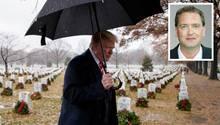 US-Präsident Donald Trump wiederholt Dinge so lange, bis man sie einfach hinnimmt