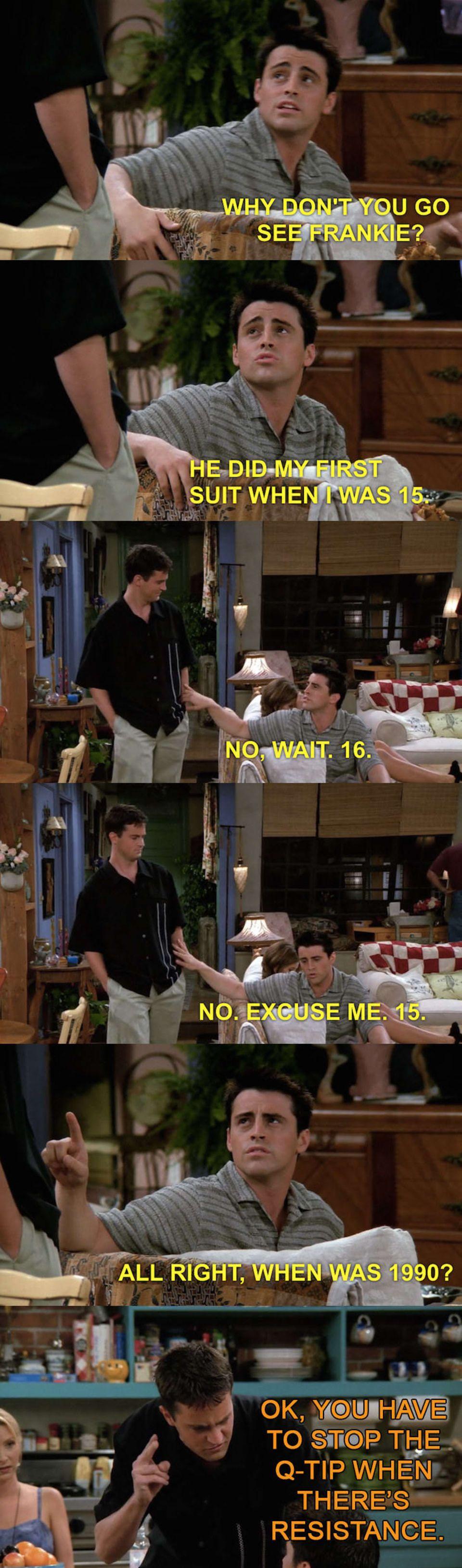 """Kult-Serie : Das ist der liebste Chandler-Gag von """"Friends""""-Schauspieler Matthew Perry"""