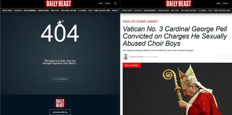 """""""DailyBeast"""" setzt auf Geoblocking"""