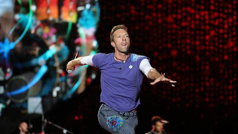 Chris Martin von Coldplay