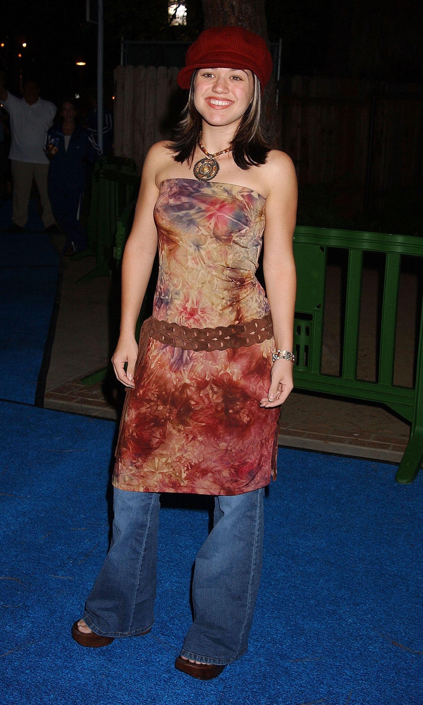 2000er Modetrends: Kelly Clarkson