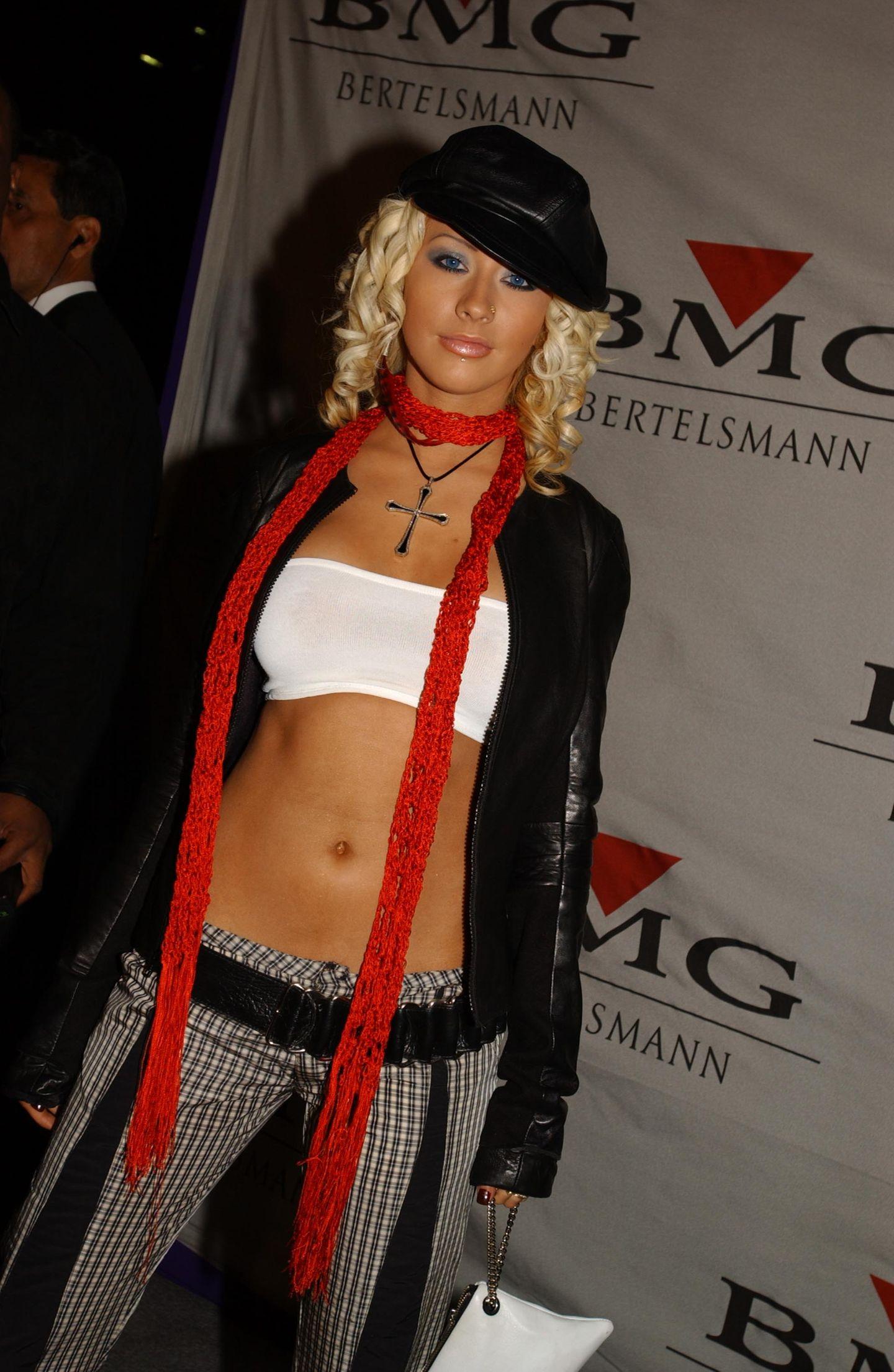 2000er Modetrends: Christina Aguilera