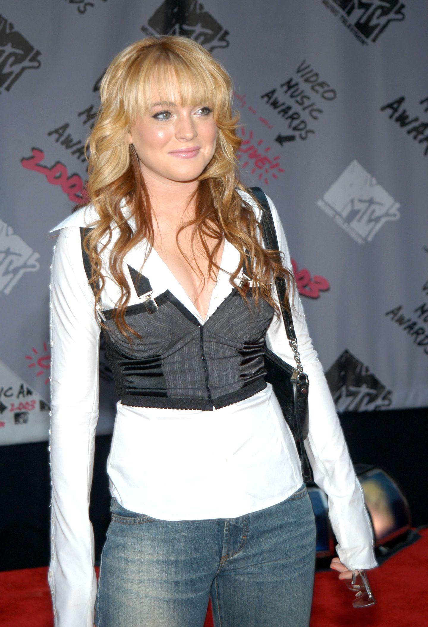 2000er Modetrends: Lindsay Lohan