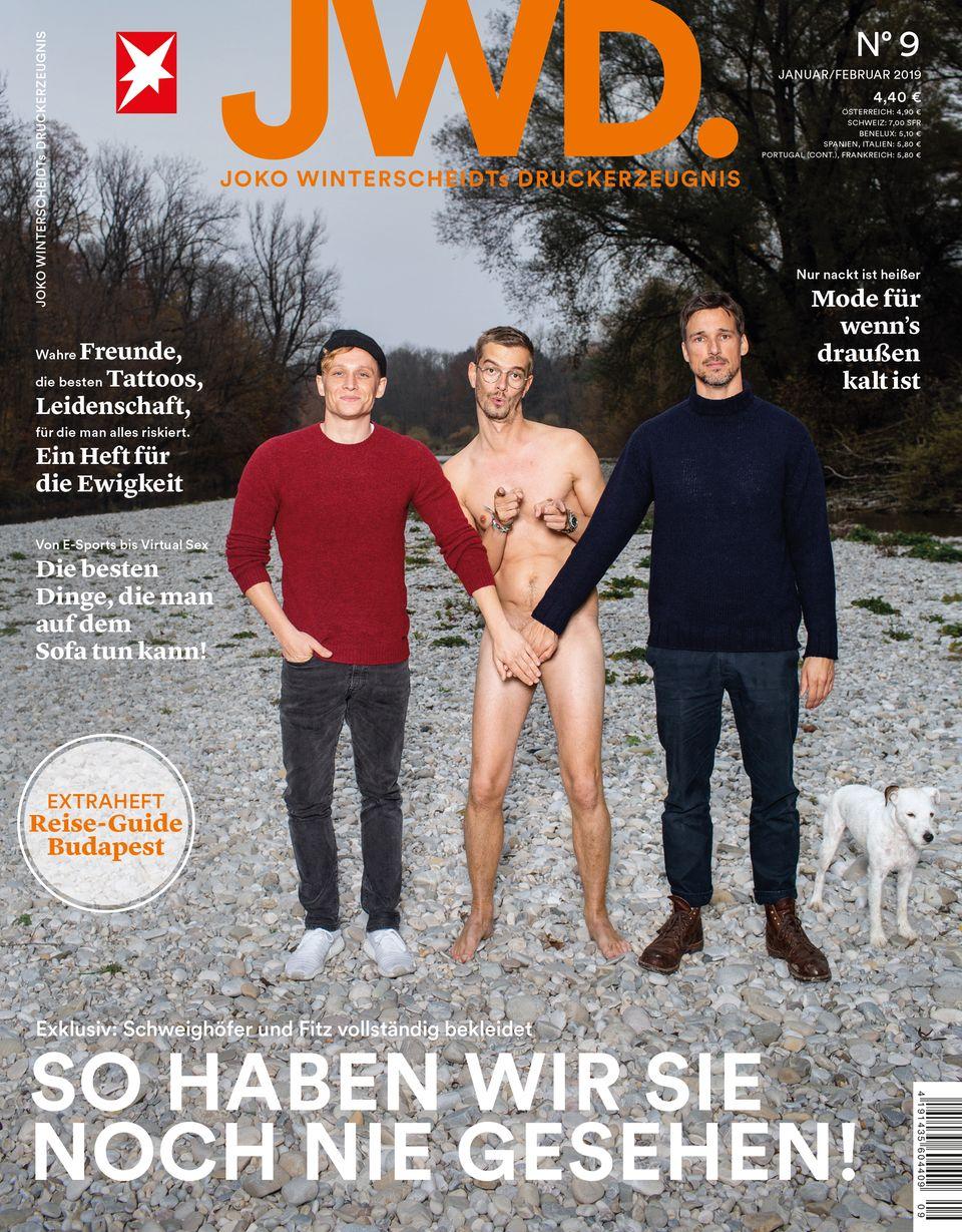 Magazintitel 9. Ausgabe JWD Joko Winterscheidt's Druckerzeugnis