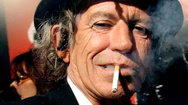 Keith Richards: Er wird 75