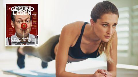 Beckenbodentraining: Am Anfang stehen oft einfache Übungen zur Anspannung der Muskeln