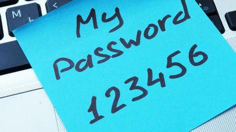 Die Deutschen legen nicht viel Wert auf sichere Passwörter