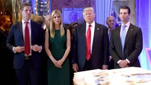 Donald Ivanka Eric Trump