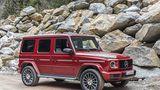 Mercedes G 350d - deutlich breiter und komfortabler als sein Vorgänger