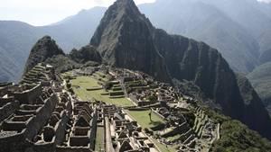 In der historischen Inkastadt Machu Picchu wird eine blinde US-Touristin vermisst