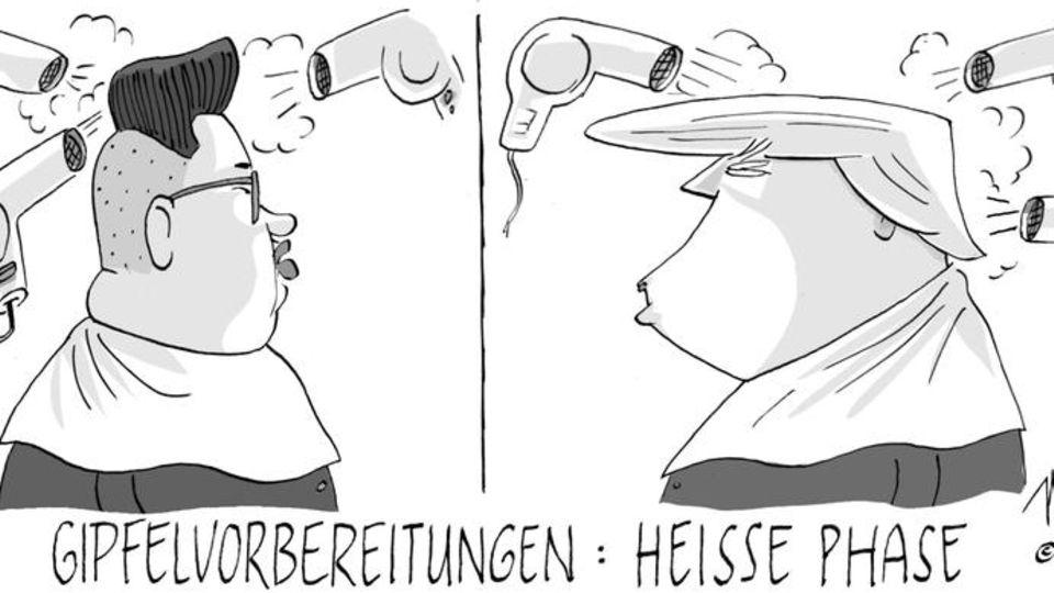 stern-Zeichner NEL: Politischer Hot-Spott: Die besten Cartoons 2018
