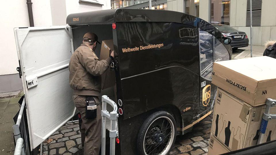 Pakete biszu 250 Kilo Gesamtgewichtdarf Oltmanns zuladen