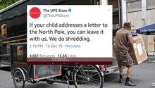 Paketzusteller UPS versucht witzig zu sein – und erntet Shitstorm