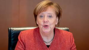 BundeskanzlerinMerkel im Kabinett