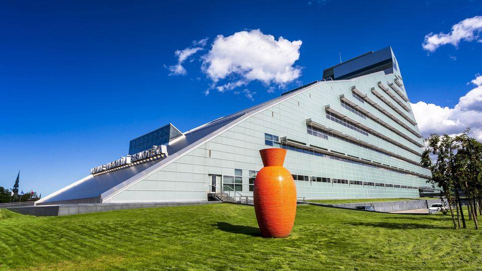 Rigas neues Wahrzeichen: die lettische Nationalbibliothek